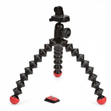 Joby GorillaPod для фото и GoPro камер -  GorillaPod Action Tripod with Mount for GoPro (черный/красный)