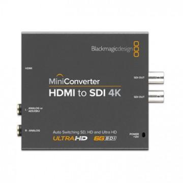 Blackmagic MINI CONVERTER - AUDIO TO SDI 4K CONVMCSAUD4K