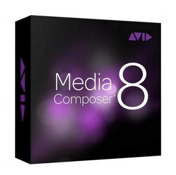 Программа для видеомонтажа Avid MEDIA COMPOSER 8 9935-65686-05