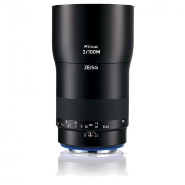 Объектив Carl Zeiss Milvus 2/100M ZE для Canon 2096-563