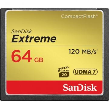 Sandisk Extreme CF 64Gb (120/85 Mb/s)
