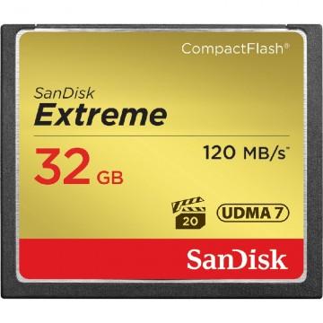 Sandisk Extreme CF 32Gb (120/85 Mb/s)