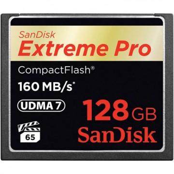 Sandisk Extreme Pro CompactFlash 128Gb (160/150 Mb/s)