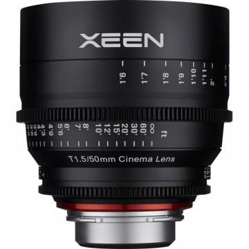 Объектив Samyang Xeen 50mm T1.5 Pro Cine Lens Canon EF