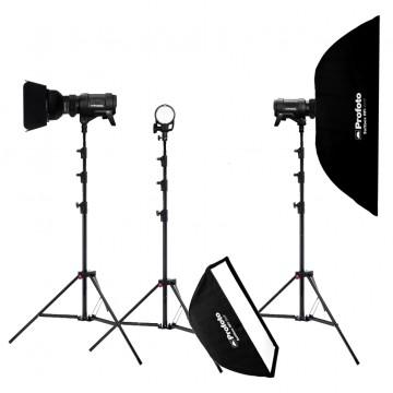 Комплект с тремя моноблоками Profoto D2 Studio Kit 500/1000/1000 AirTTL 901716SK