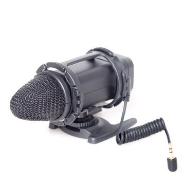 Микрофон Boya BY-V02 Стерео микрофон для DSLR и видеокамер