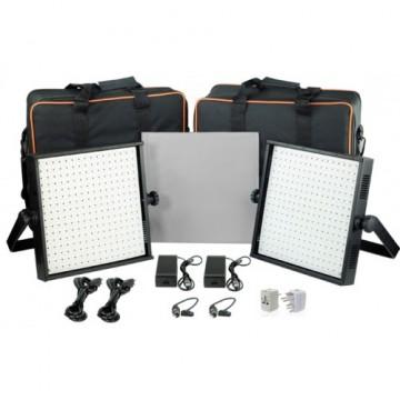 Комплект видеосвета LED Proaim 2x1000pc LED Daylight DMX