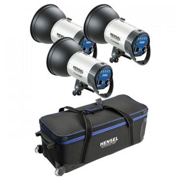 Комплект с тремя моноблоками Hensel Integra 500 Plus Freemask Kit (3шт. + сумка) 8815FMP4191