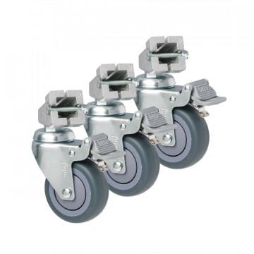 Колеса для стойки Kupo Caster w/square adapter комплект колес KC080S