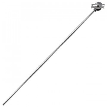 """Kupo KCP-241 40"""" EXTENSION GRIP ARM WITH BABY HEX PIN-SILVER. Кронштейн GRIP ARM 40"""""""
