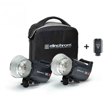 Комплект с двумя моноблоками Elinchrom ELC Pro HD 500/500 To Go 20677.2
