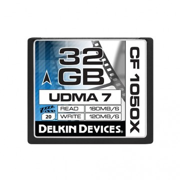 Delkin Cinema CF 32GB UDMA7 1050X