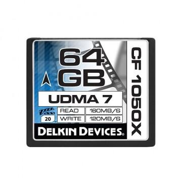 Delkin Cinema CF 64GB UDMA7 1050X