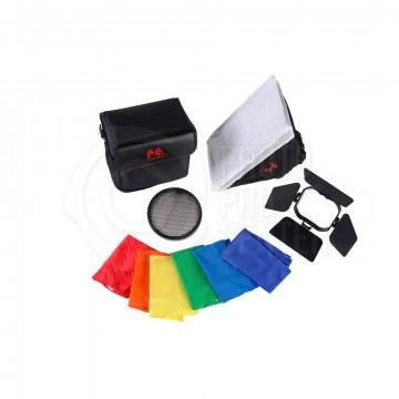 Насадка Falcon Eyes FGA-K5 Комплект насадок для накамерных вспышек