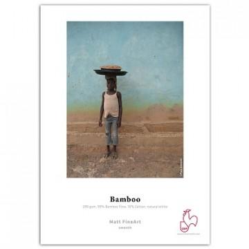 Фотобумага Hahnemuhle Bamboo 290gsm, матовая, рулон 44