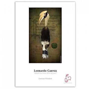 Фотобумага Hahnemuhle Leonardo Canvas 390gsm, холст, глянцевый, рулон 24
