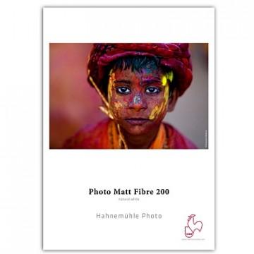 Фотобумага Hahnemuhle Photo Matt Fibre 200gsm, матовая, пачка A3+, 25 листов