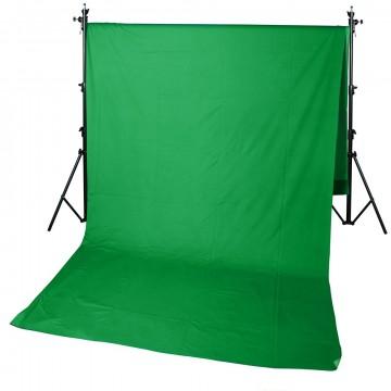 Фон GreenBean Field 3.0 х 7.0 Green Тканевый хромакей