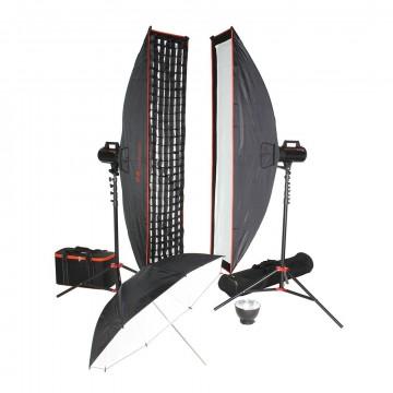 Комплект с двумя моноблоками Falcon Eyes Sprinter 2300-SBU Kit