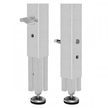 Guil PTA5-P ножка телескопическая с фиксатором и винтовой опорой 90-160 см (1шт.)