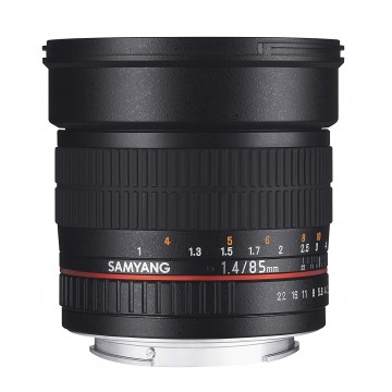 Объектив Samyang 85mm f/1.4 AE Nikon
