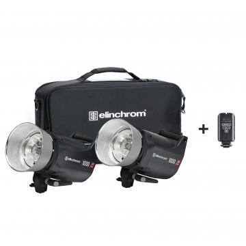 Комплект с двумя моноблоками Elinchrom ELC Pro HD 1000/1000