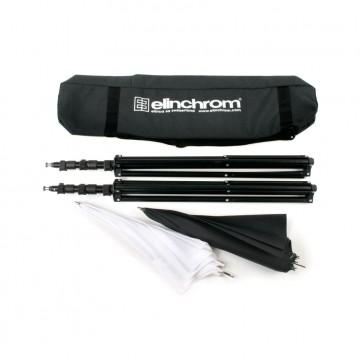 Стойка для освещения Elinchrom Комплект стоек и зонтов в сумке 88-235cm