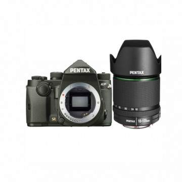 Фотокамера Pentax KP + объектив DA 18-135 WR + 3 рукоятки