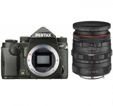 Фотокамера Pentax KP + объектив DA 20-40 Lim + 3 рукоятки