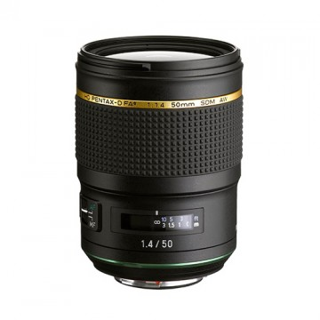 Объектив Pentax HD PENTAX-D FA* 50mm f/1.4 SDM AW