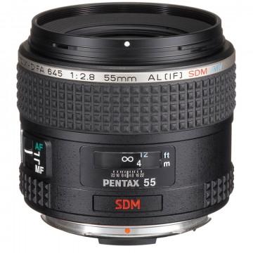 Объектив Pentax D FA 645 55mm f/2.8 AL[IF] SDM AW*