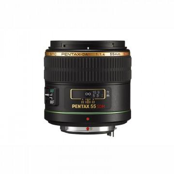Объектив Pentax SMC PENTAX DA 55mm f/1.4 SDM