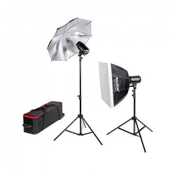 Комплект с двумя моноблоками Godox E250-F