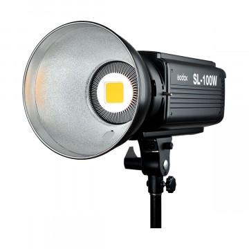Светодиодный LED осветитель Godox SL-100W студийный (5600K)