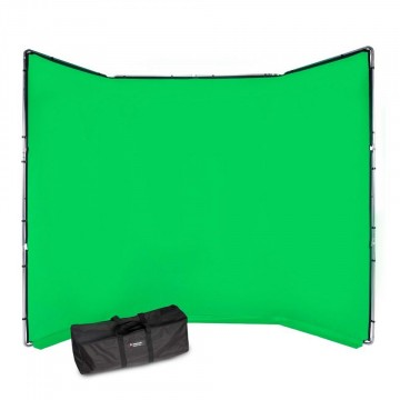 Фон Manfrotto Chroma Key FX 4x2.9m Background Kit Green