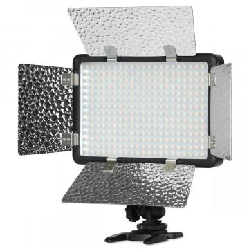 Светодиодный LED осветитель Godox LF308BI с функцией вспышки накамерный (без пульта)