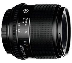 Объектив Mamiya Sekor-D 55mm f/2.8 AF LS (Schneider)