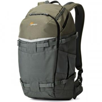Рюкзак LOWEPRO Flipside Trek BP 450 AW серый/темно-зеленый