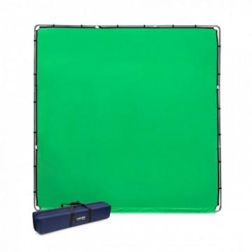 Фон Lastolite StudioLink комплект хромакея 3 x 3м, зеленый