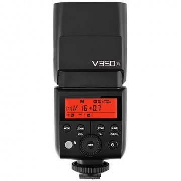 Вспышка Godox Ving V350F TTL аккумуляторная для Fujifilm